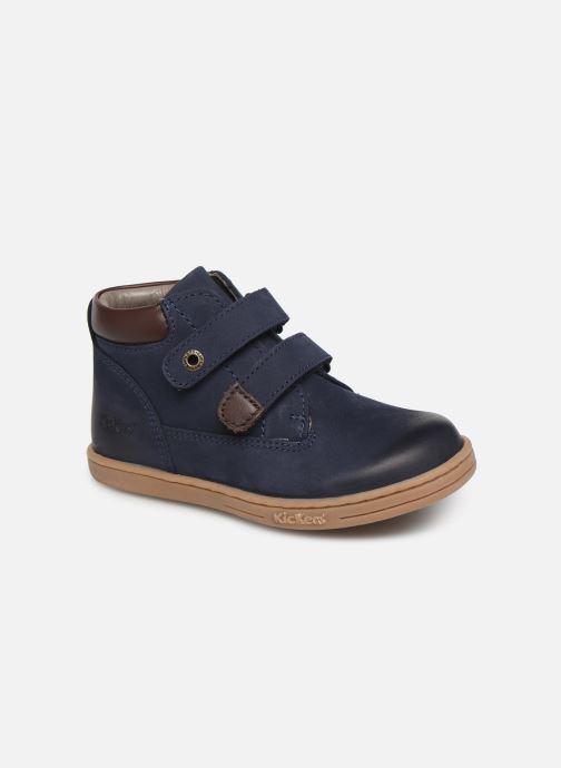 Bottines et boots Kickers Tackeasy Bleu vue détail/paire