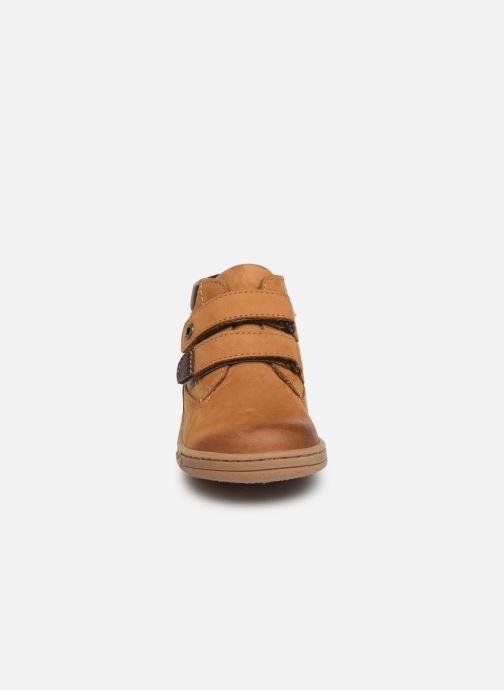 Bottines et boots Kickers Tackeasy Jaune vue portées chaussures