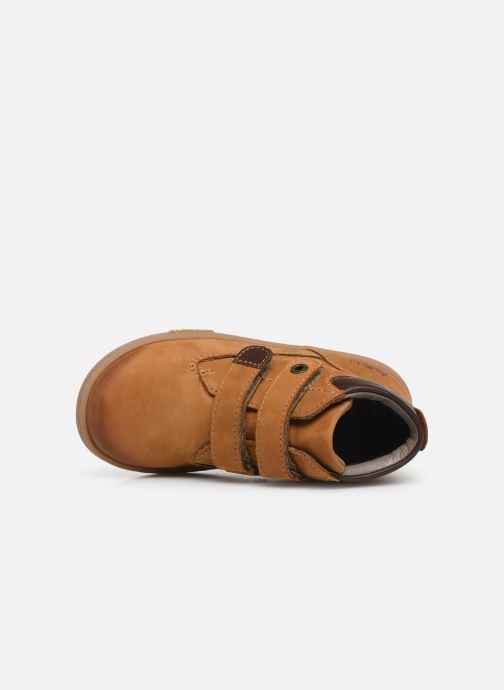 Bottines et boots Kickers Tackeasy Jaune vue gauche