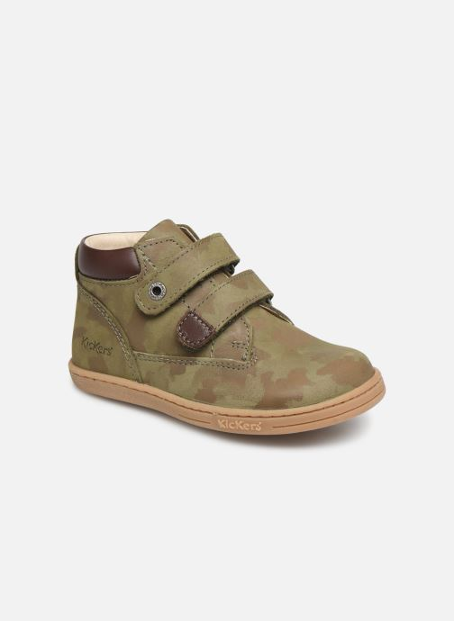 Ankelstøvler Kickers Tackeasy Grøn detaljeret billede af skoene