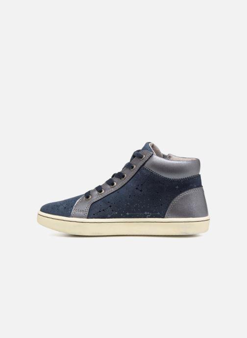 Sneakers Kickers Lyluby Blauw voorkant