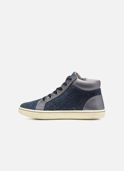 Sneakers Kickers Lyluby Azzurro immagine frontale
