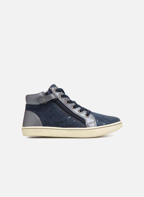 Sneakers Kickers Lyluby Azzurro immagine posteriore