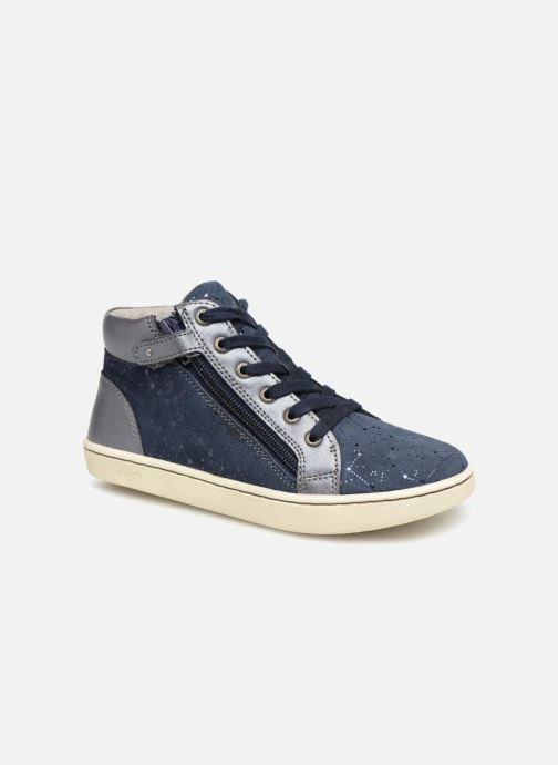 Sneakers Kickers Lyluby Azzurro vedi dettaglio/paio
