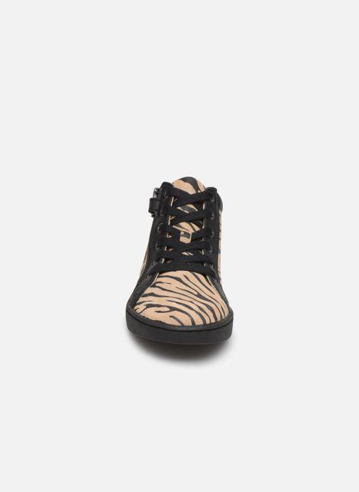 Sneakers Kickers Lyluby Zwart model