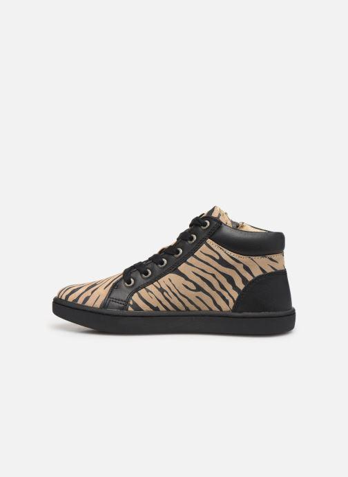 Sneakers Kickers Lyluby Zwart voorkant