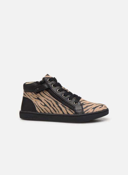 Sneakers Kickers Lyluby Zwart achterkant