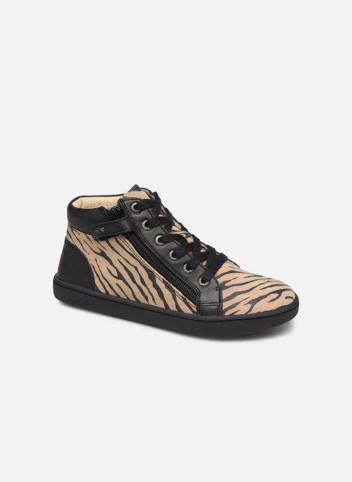 Sneakers Kickers Lyluby Zwart detail