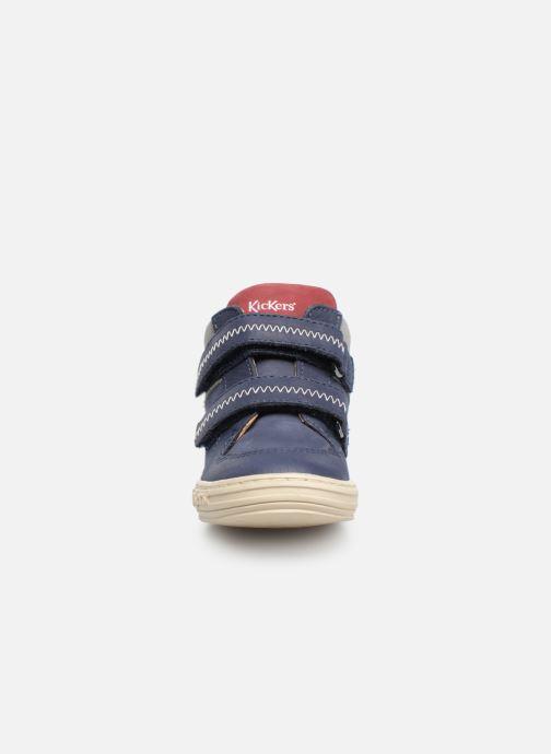 Stiefeletten & Boots Kickers Jordie blau schuhe getragen