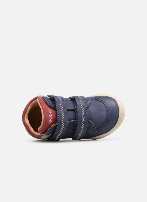 Stiefeletten & Boots Kickers Jordie blau ansicht von links