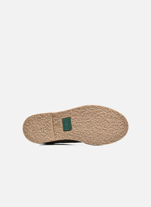 Chaussures à lacets Kickers Tymba Beige vue haut