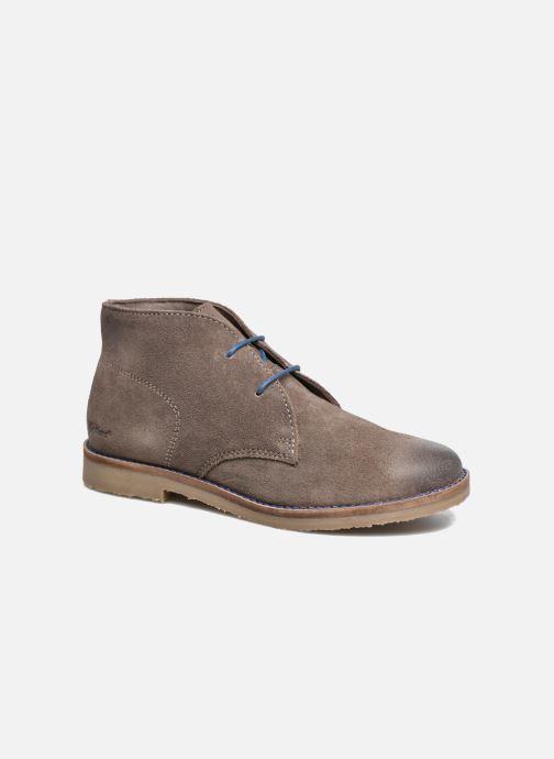 Chaussures à lacets Kickers Tymba Beige vue détail/paire