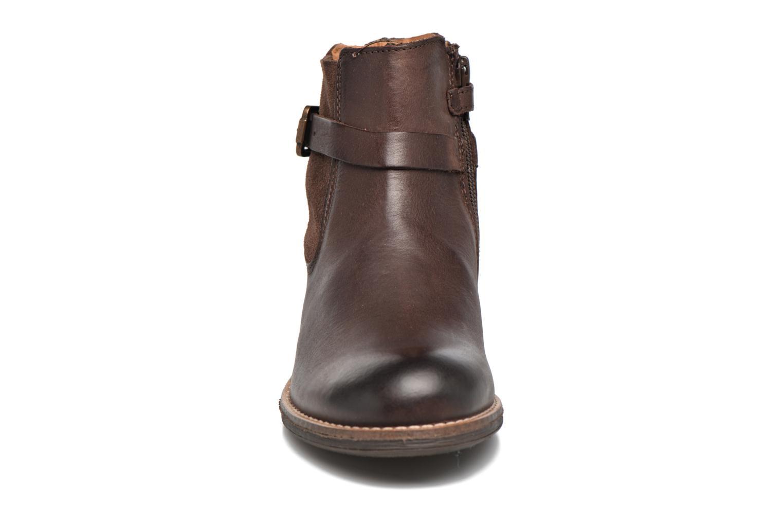 Bottines et boots Kickers Smackus Marron vue portées chaussures