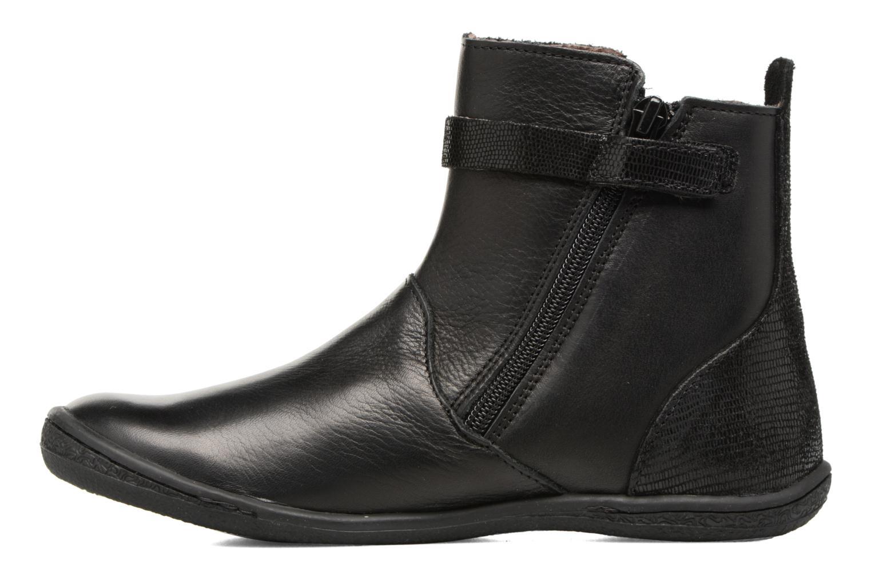 Boots en enkellaarsjes Kickers Cameron Zwart voorkant