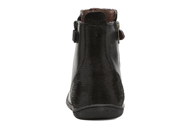 Boots en enkellaarsjes Kickers Cameron Zwart rechts