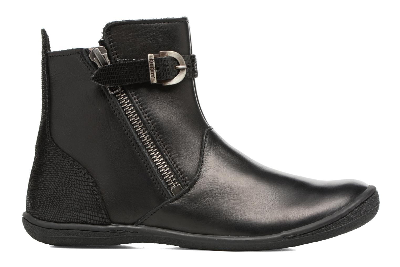 Boots en enkellaarsjes Kickers Cameron Zwart achterkant