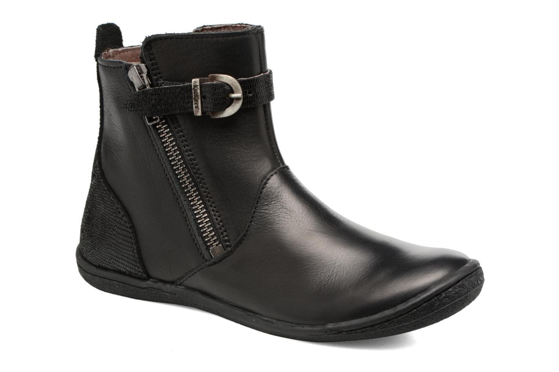 Boots en enkellaarsjes Kickers Cameron Zwart detail