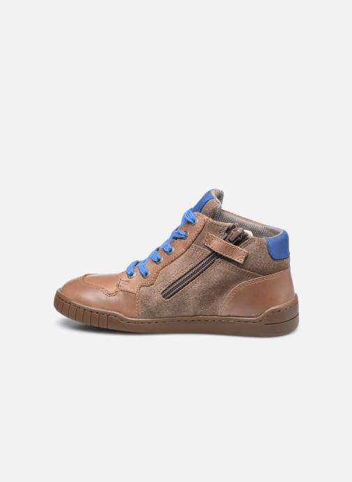 Sneakers Kickers Wazabi Beige immagine frontale
