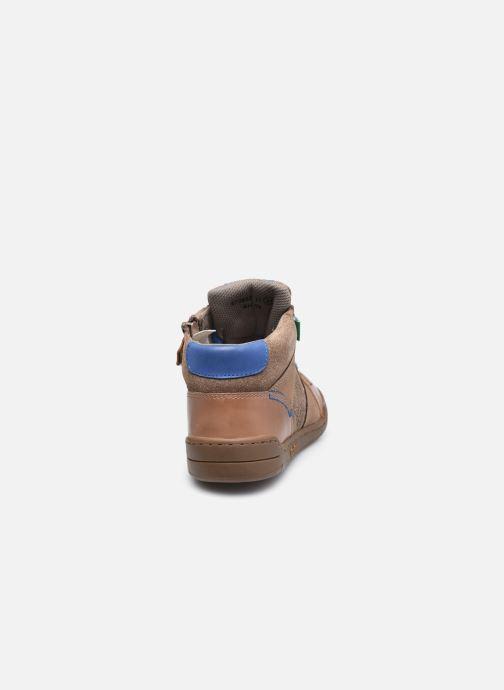Sneakers Kickers Wazabi Beige immagine destra