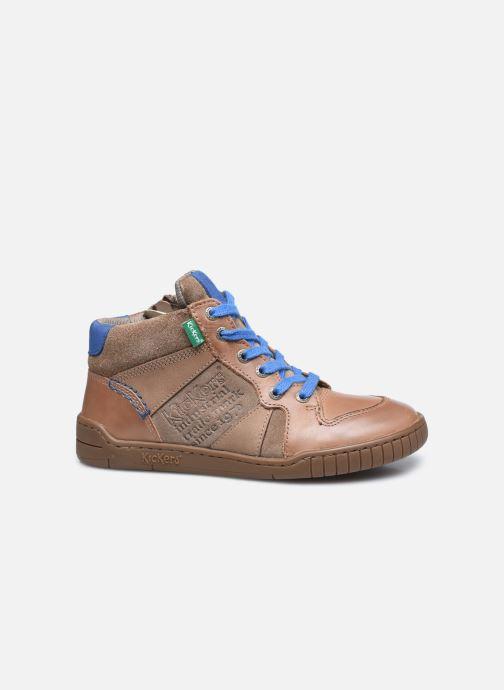 Sneakers Kickers Wazabi Beige immagine posteriore