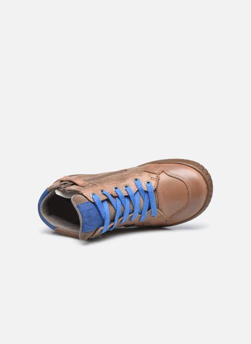 Sneakers Kickers Wazabi Beige immagine sinistra
