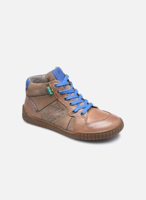 Sneakers Kickers Wazabi Beige vedi dettaglio/paio