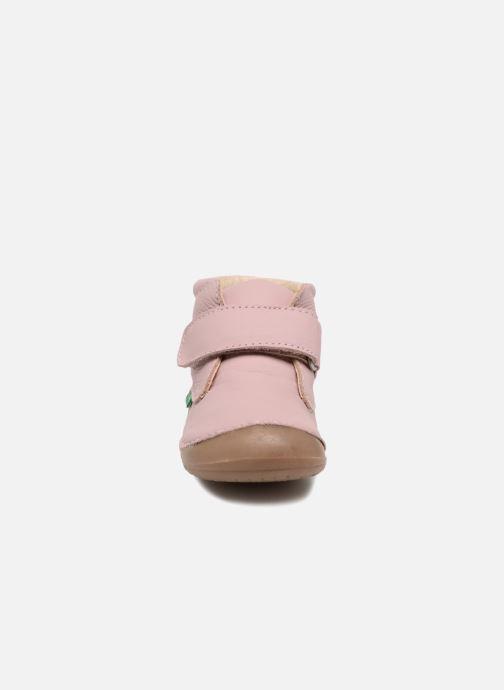 Bottines et boots Kickers Sabio Rose vue portées chaussures