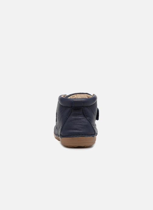 Bottines et boots Kickers Sabio Bleu vue droite