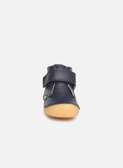 Bottines et boots Kickers Sabio Bleu vue portées chaussures