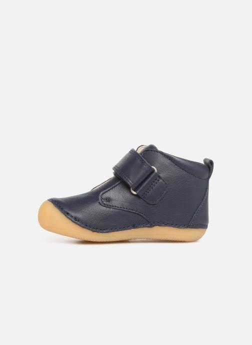 Boots en enkellaarsjes Kickers Sabio Blauw voorkant