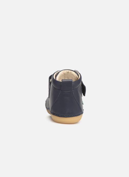 Boots en enkellaarsjes Kickers Sabio Blauw rechts