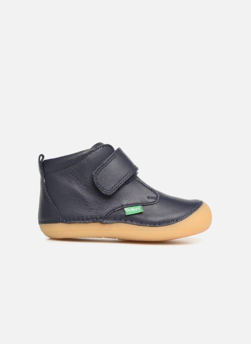 Boots en enkellaarsjes Kickers Sabio Blauw achterkant