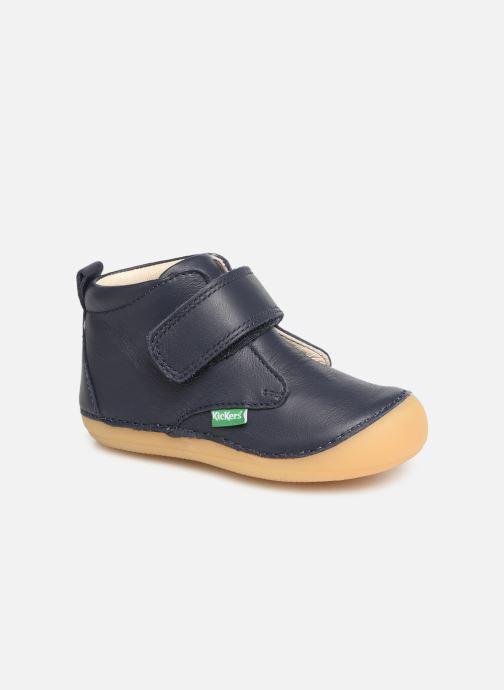 Boots en enkellaarsjes Kickers Sabio Blauw detail