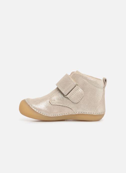 Boots en enkellaarsjes Kickers Sabio Zilver voorkant