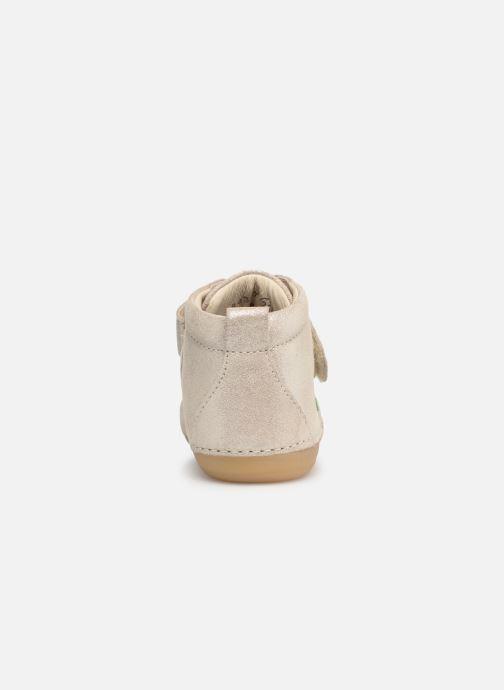 Boots en enkellaarsjes Kickers Sabio Zilver rechts