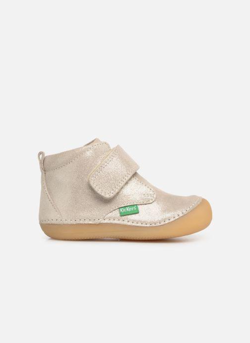 Boots en enkellaarsjes Kickers Sabio Zilver achterkant