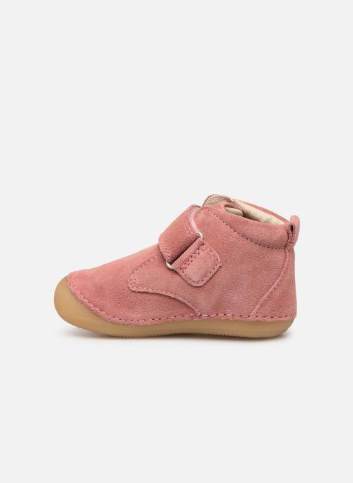 Boots en enkellaarsjes Kickers Sabio Roze voorkant