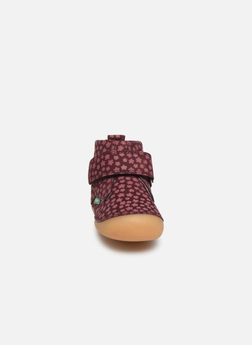 Boots en enkellaarsjes Kickers Sabio Bordeaux model