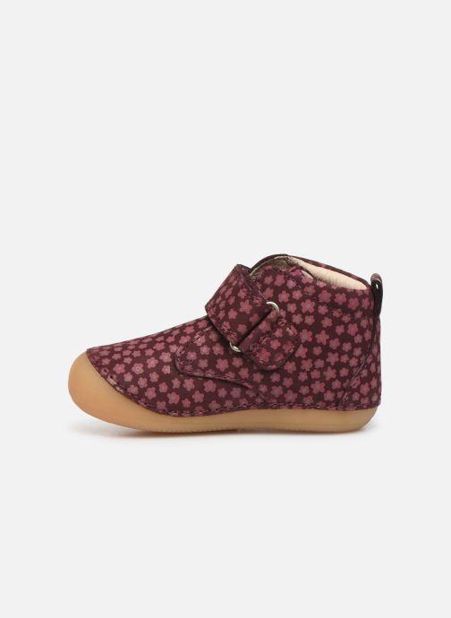 Boots en enkellaarsjes Kickers Sabio Bordeaux voorkant