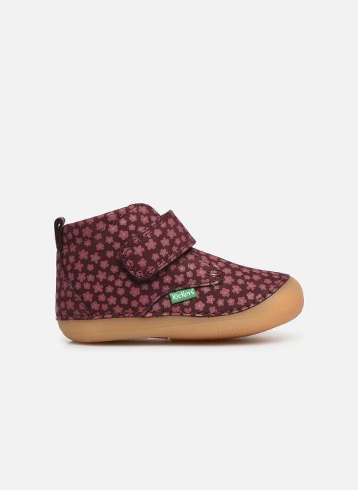 Boots en enkellaarsjes Kickers Sabio Bordeaux achterkant