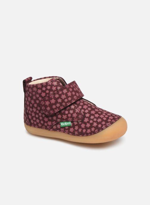 Boots en enkellaarsjes Kickers Sabio Bordeaux detail