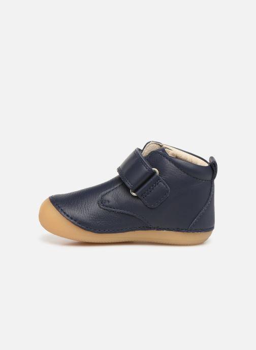 Stiefeletten & Boots Kickers Sabio blau ansicht von vorne
