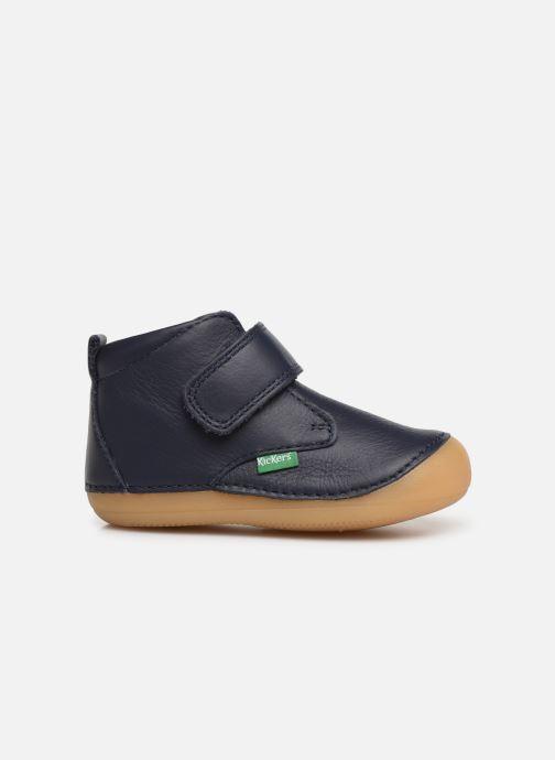 Bottines et boots Kickers Sabio Bleu vue derrière