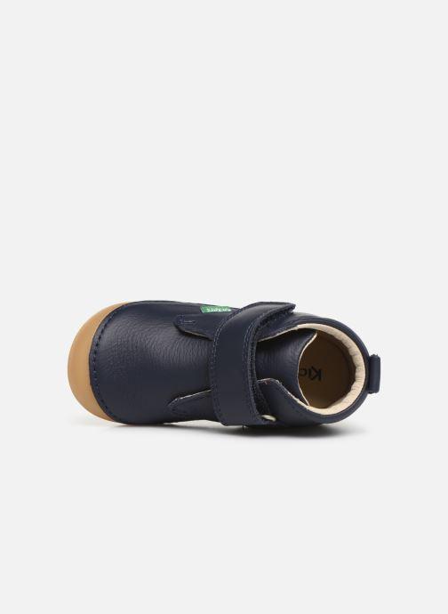 Stiefeletten & Boots Kickers Sabio blau ansicht von links