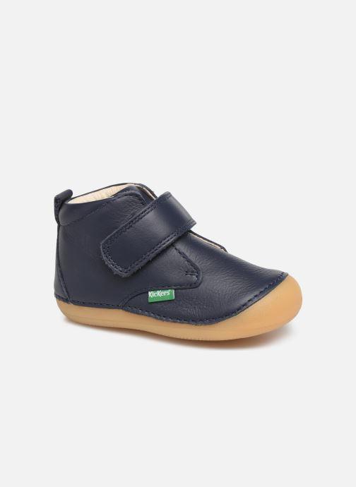 Bottines et boots Kickers Sabio Bleu vue détail/paire