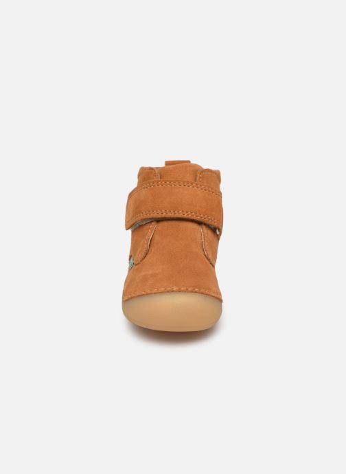 Bottines et boots Kickers Sabio Marron vue portées chaussures