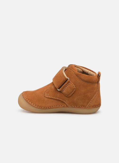 Boots en enkellaarsjes Kickers Sabio Bruin voorkant
