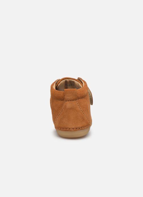 Boots en enkellaarsjes Kickers Sabio Bruin rechts