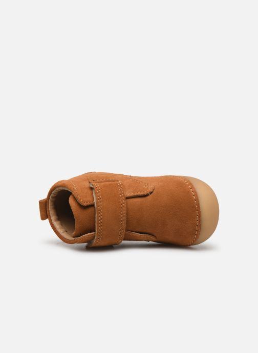 Boots en enkellaarsjes Kickers Sabio Bruin links
