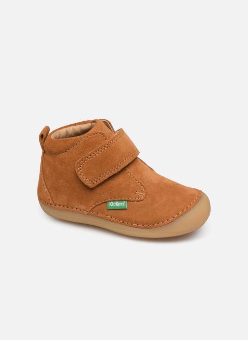 Boots en enkellaarsjes Kickers Sabio Bruin detail